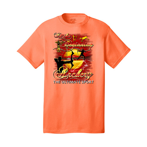 Archery The Ultimate Sport Tee Neon Orange