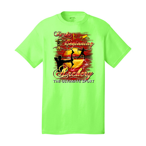 Archery The Ultimate Sport Tee Neon Green