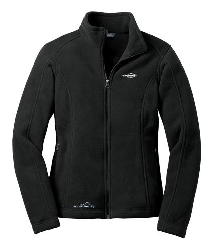 Port Authority Ladies Microfleece Jacket Black Color