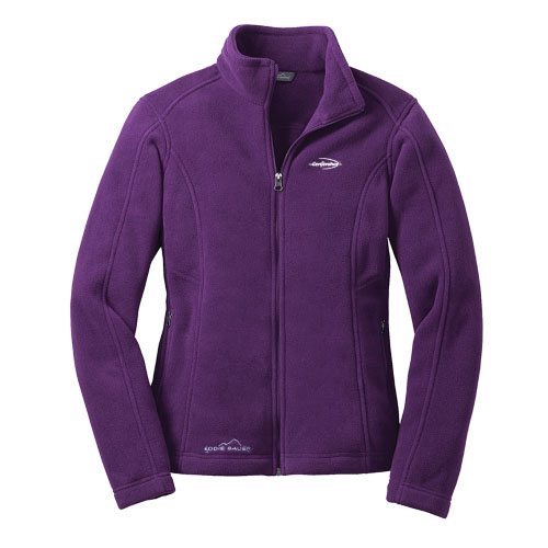 Port Authority Ladies Microfleece Jacket Amethyst Purple Color