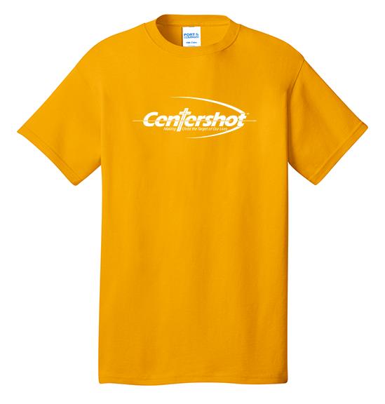 Port Company Core Cotton Tee Gold Color