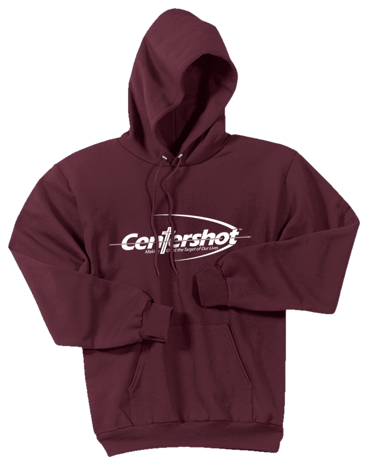 Hoodies Youth Adult Maroon Color
