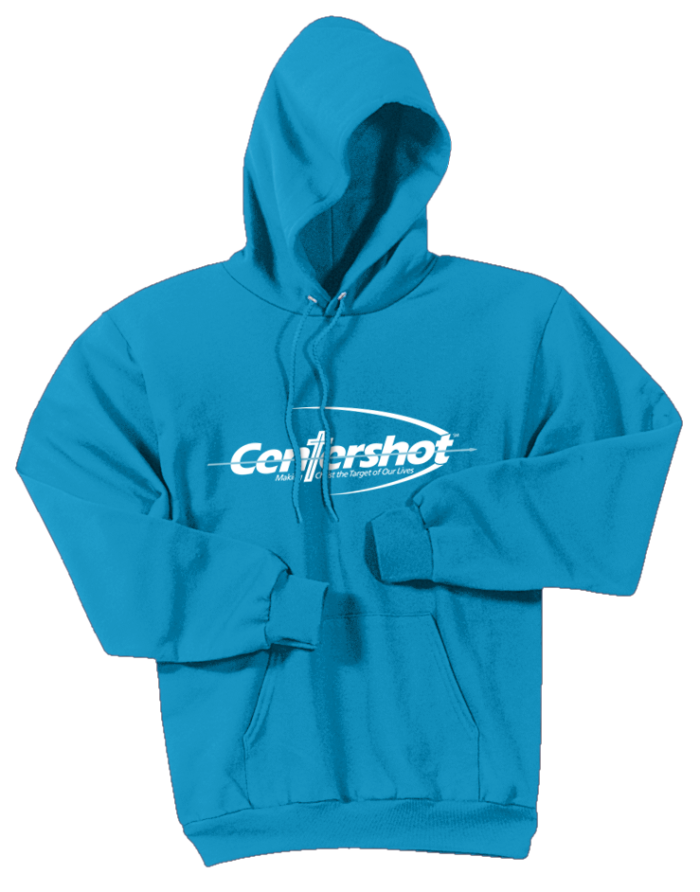 Hoodies Youth Adult Neon Blue Color