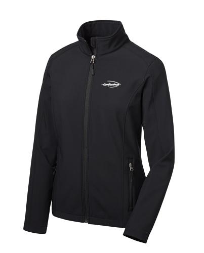 Port Authority Ladies Core Soft Shell Jacket Black Color