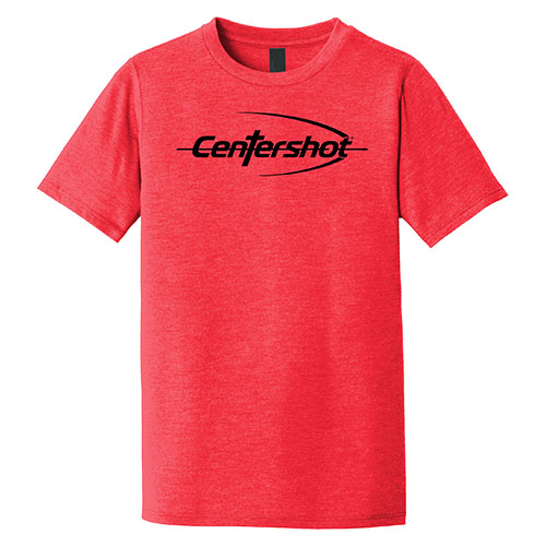 District Youth Perfect Tri Tee Red Frost