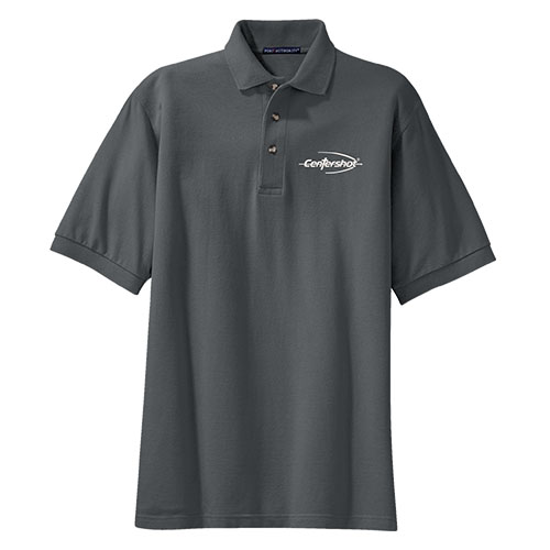 Port Authority Heavyweight Cotton Pique Polo Stone Color