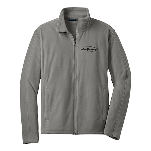 Port Authority Microfleece Jacket Pearl Grey