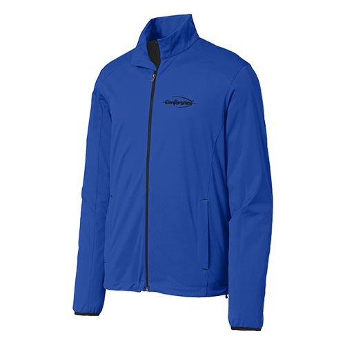Port Authority Active Soft Shell Jacket Regatta Blue Color