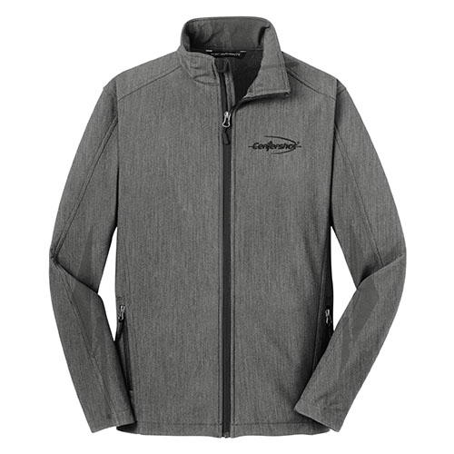 Port Authority Core Soft Shell Jacket Deep Smoke