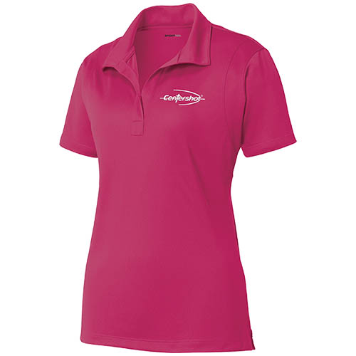 Sport Tek Micropique Sport Wick Polo Cardinal Color